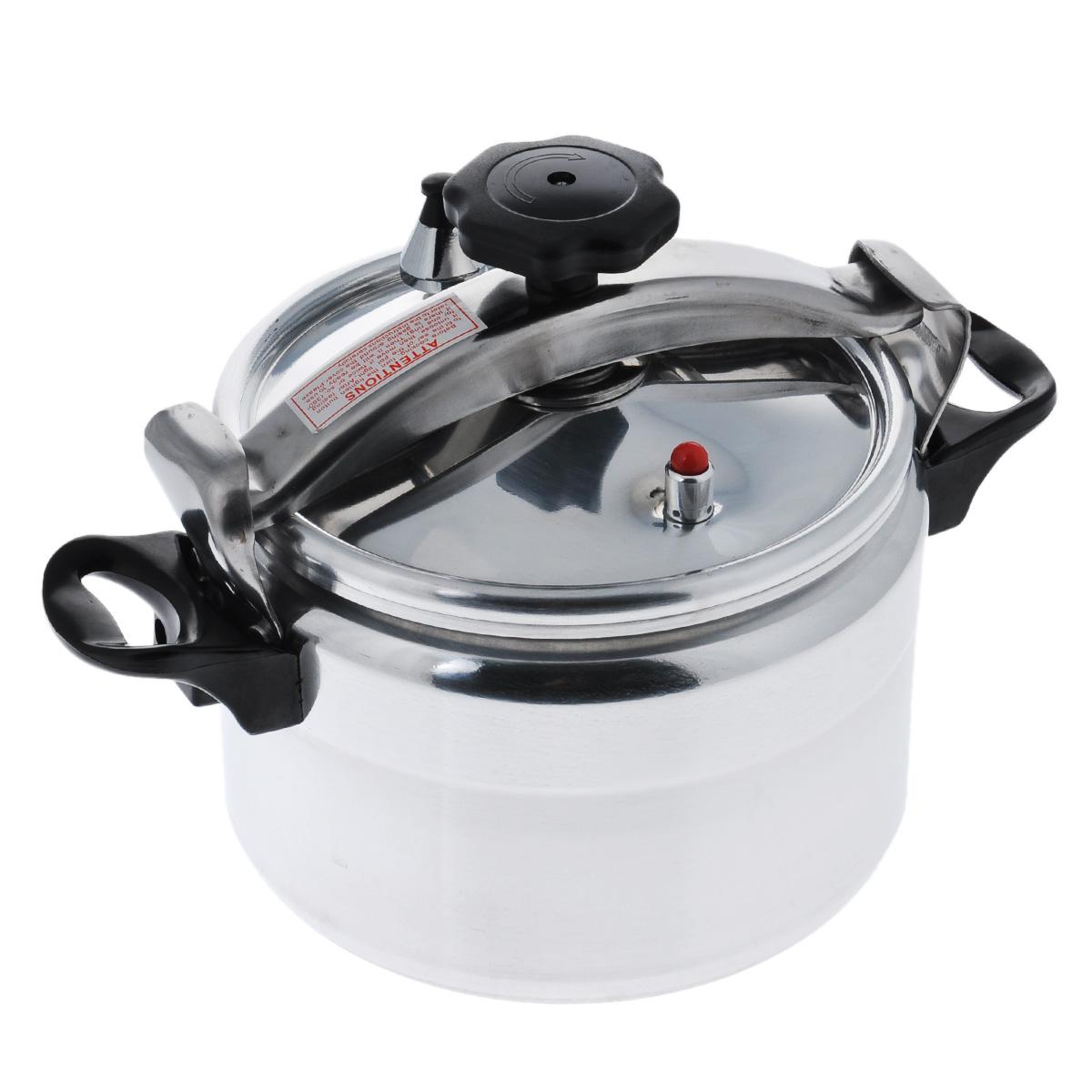Скороварка Mayer & Boch, 7 л4992Скороварка Mayer & Boch изготовлена из высококачественного алюминия с зеркальной полировкой. Материал изделия безопасен для здоровья, гигиеничен, хорошо проводит тепло и легко чистится. Изделие устойчиво к механическим повреждениям, равномерно распределяет тепло и экономит энергию. Скороварка готовит при высоких температурах. Плотно прилегающая крышка из нержавеющей стали, и дополнительное уплотнительное кольцо предотвращают выход пара. Горячий пар распределяется по всей внутренней поверхности изделия, что позволяет готовить здоровую и вкусную пищу намного быстрее. Основное преимущество скороварок в том, что при готовке все питательные вещества и микроэлементы сохраняются. Эргономичные бакелитовые ручки обеспечивают удобный захват. Скороварка Mayer & Boch послужит прекрасным помощником для вас и членов вашей семьи. Подходит для использования на всех типах плит, кроме индукционных. Можно мыть в посудомоечной машине. Высота стенки: 16,5 см. Диаметр по...