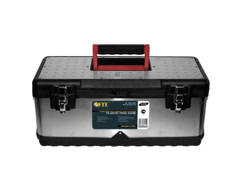Ящик для инструментов FIT, облицовка из нержавеющей стали, 59 х 28 х 22,5 см