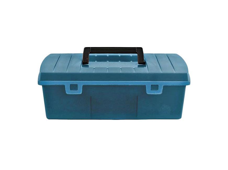 Ящик для инструментов FIT, 35 см х 16,5 см х 12,5 см65498Ящик FIT 65498 необходимое и очень удобное приспособление для хранения инструментов, крепежей и различных расходных материалов. Данный ящик имеет оптимальные габариты и диагональ 14 дюймов. Следует отметить, что он выполнен из специального ударопрочного пластика и обладает усиленной рукоятью для удобной переноски.