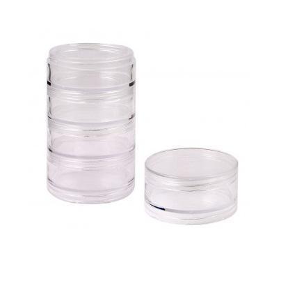 Органайзер для бисера Белоснежка, 5 секцийBО-052Органайзер для бисера изготовлен из прозрачного пластика, что позволяет видеть содержимое. Внутри содержится регулируемые ячейки для хранения бисера. Крышка плотно закрывается на два замка-защелки. Такой контейнер поможет держать бисер в порядке.