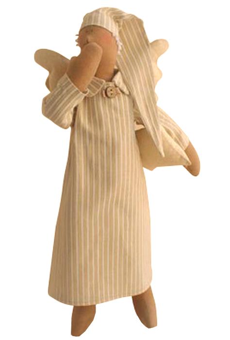 Набор для изготовления текстильной куклы Angels Story, высота 38 см. 003315003Набор для изготовления игрушки Ваниль Angels Story позволит самостоятельно создать мягкого текстильного ангелочка. В комплект входит: - ткань для тела (100% хлопок), - ткань для одежды (100% хлопок), - атласная лента, - нитки для волос, - нитки, - пуговицы, - деревянная палочка, - инструкция на русском языке. Дополнительно вам потребуется: суперпух, кофе растворимый, клей ПВА, ваниль, кисточка, ножницы, нитки, иголка. Набор для изготовления текстильной игрушки подарит массу положительных эмоций и позволит создать милого и обаятельного ангелочка. Наполнитель в комплект не входит. В качестве наполнителя подойдет синтепух. Высота игрушки: 38 см.