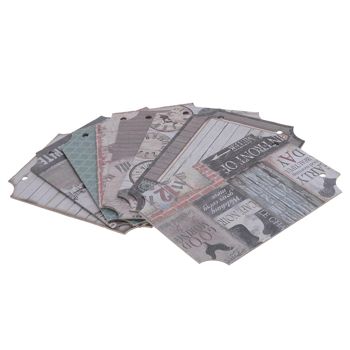 Набор для создания мини-альбома Оглянуться назад, 12,7 см х 17,8 см485405Набор для создания мини-альбома Оглянуться назад позволит создать красивый альбом ручной работы. Набор включает 8 листов из плотной бумаги с разным дизайном и 2 кольца для альбома. Бумага не содержит лигнин и хлор.