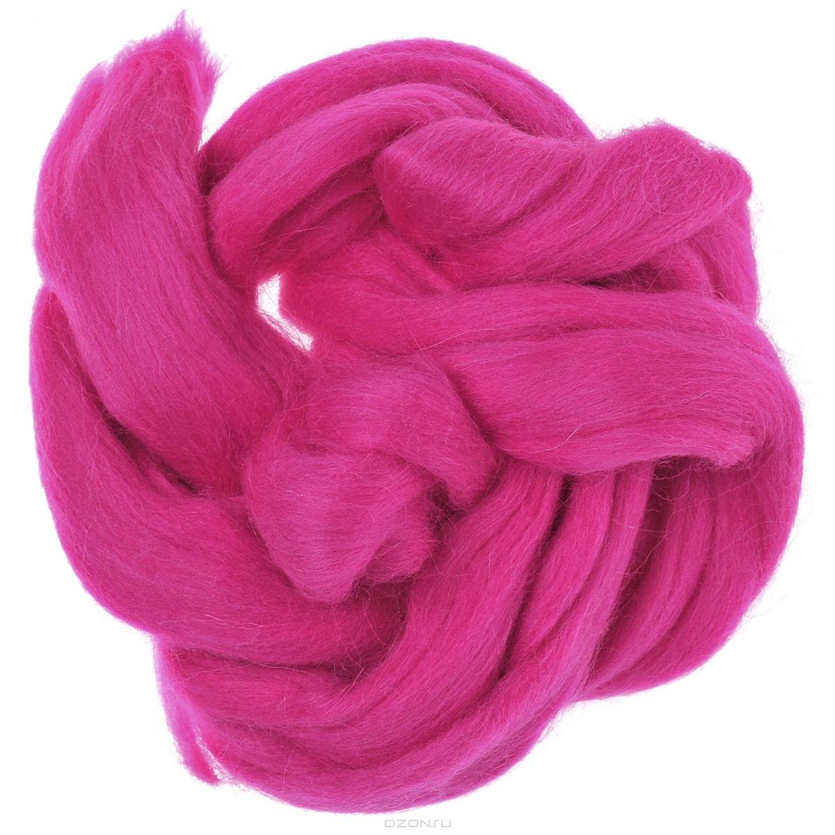 Шерсть для валяния Астра, тонкая, цвет: мальва (1014), 100 г366137_1014Тонкая шерсть для валяния Астра идеально подходит для сухого и мокрого валяния. Шерсть не линяет и не вызывает аллергию. Выполнена из 100% натурального материала. Валяние шерсти - это особая техника рукоделия, в процессе которой из шерсти для валяния создается рисунок на ткани или войлоке, объемные игрушки, панно, декоративные элементы, предметы одежды или аксессуары. Только натуральная шерсть обладает способностью сваливаться или свойлачиваться.