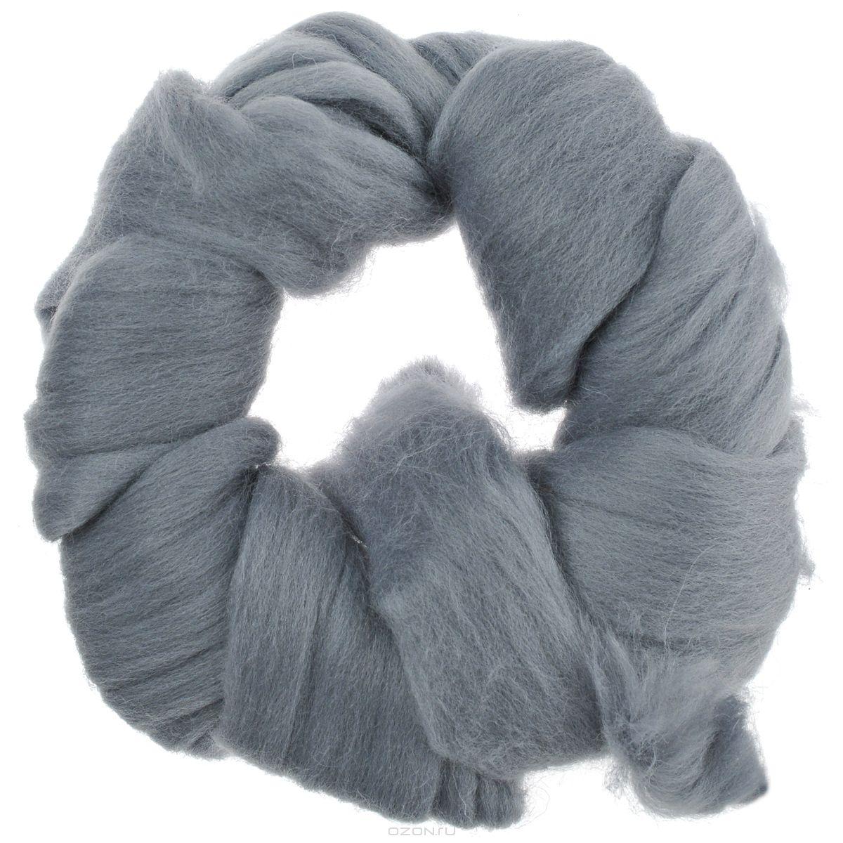 Шерсть для валяния Астра, тонкая, цвет: серый (0431), 100 г366137_0431Тонкая шерсть для валяния Астра идеально подходит для сухого и мокрого валяния. Шерсть не линяет и не вызывает аллергию. Выполнена из 100% натурального материала. Валяние шерсти - это особая техника рукоделия, в процессе которой из шерсти для валяния создается рисунок на ткани или войлоке, объемные игрушки, панно, декоративные элементы, предметы одежды или аксессуары. Только натуральная шерсть обладает способностью сваливаться или свойлачиваться.
