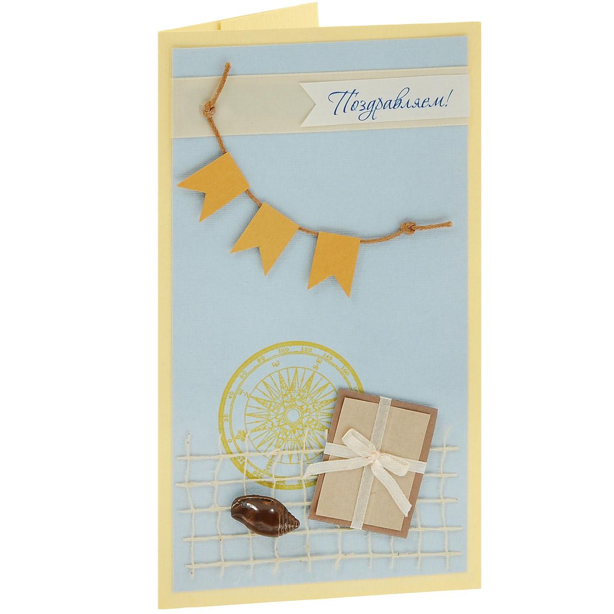 ОМ-0007 Открытка-конверт «Поздравляю!» Студия «Тётя Роза»Винтажные открытки №97Характеристики: Размер 19 см x 11 см. Материал: Высоко-художественный картон, бумага, декор. Данная открытка может стать как прекрасным дополнением к вашему подарку, так и самостоятельным подарком. Так как открытка является и конвертом, в который вы можете вложить ваш денежный подарок или просто написать ваши пожелания на вкладыше. Серо-бежевая открытка, легкая и сдержанная. В дизайне использованы атласные ленты и сетка, вощеный шнур, пуговицы и ракушки. Также открытка упакована в пакетик для сохранности. Обращаем Ваше внимание на то, что открытка может незначительно отличаться от представленной на фото.