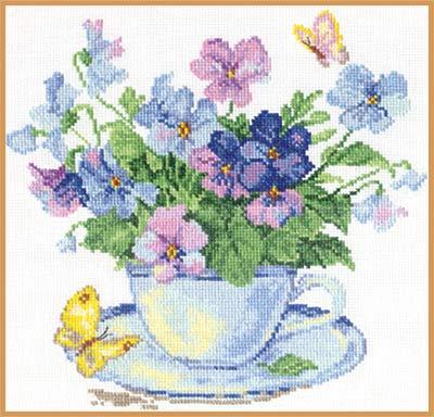 Набор для вышивания крестом Алиса Утренние цветы, 24 х 24 см661045Набор для вышивания крестиком Алиса Утренние цветы позволит вам создать собственными руками красивую картинку. Набор включает в себя все материалы, необходимые для работы: - канва Aida Gamma (32 см х 31,5 см); - нитки-мулине Gamma (18 цветов); - цветная схема; - игла Gamma; - инструкция. Красивый и стильный рисунок-вышивка выглядит оригинально и всегда модно. Работа, сделанная своими руками, создаст особый уют и атмосферу в доме, и долгие годы будет радовать ваших близких.