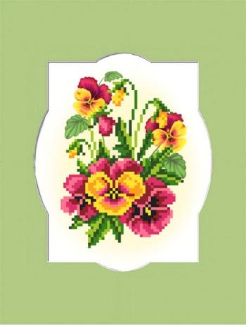 Набор для вышивания бисером Виола с паспарту, 18 см х 24 см. 54/БП694011Набор для вышивания бисером Виола поможет вам создать свой личный шедевр - красивую картину, вышитую бисером и помещенную в паспарту с фигурным вырезом. Работа, выполненная своими руками, станет отличным подарком для друзей и близких! Набор содержит: - ткань с нанесенным цветным рисунком (размер рисунка: 13,5 см х 10,5 см, размер ткани 24 см х 26 см), - бисер 9 цветов, - игла для бисера, - нить для пришивания, - паспарту (размер паспарту: 24 см х 18 см, размер выреза: 17 х 13,5 см). - инструкция на русском языке.