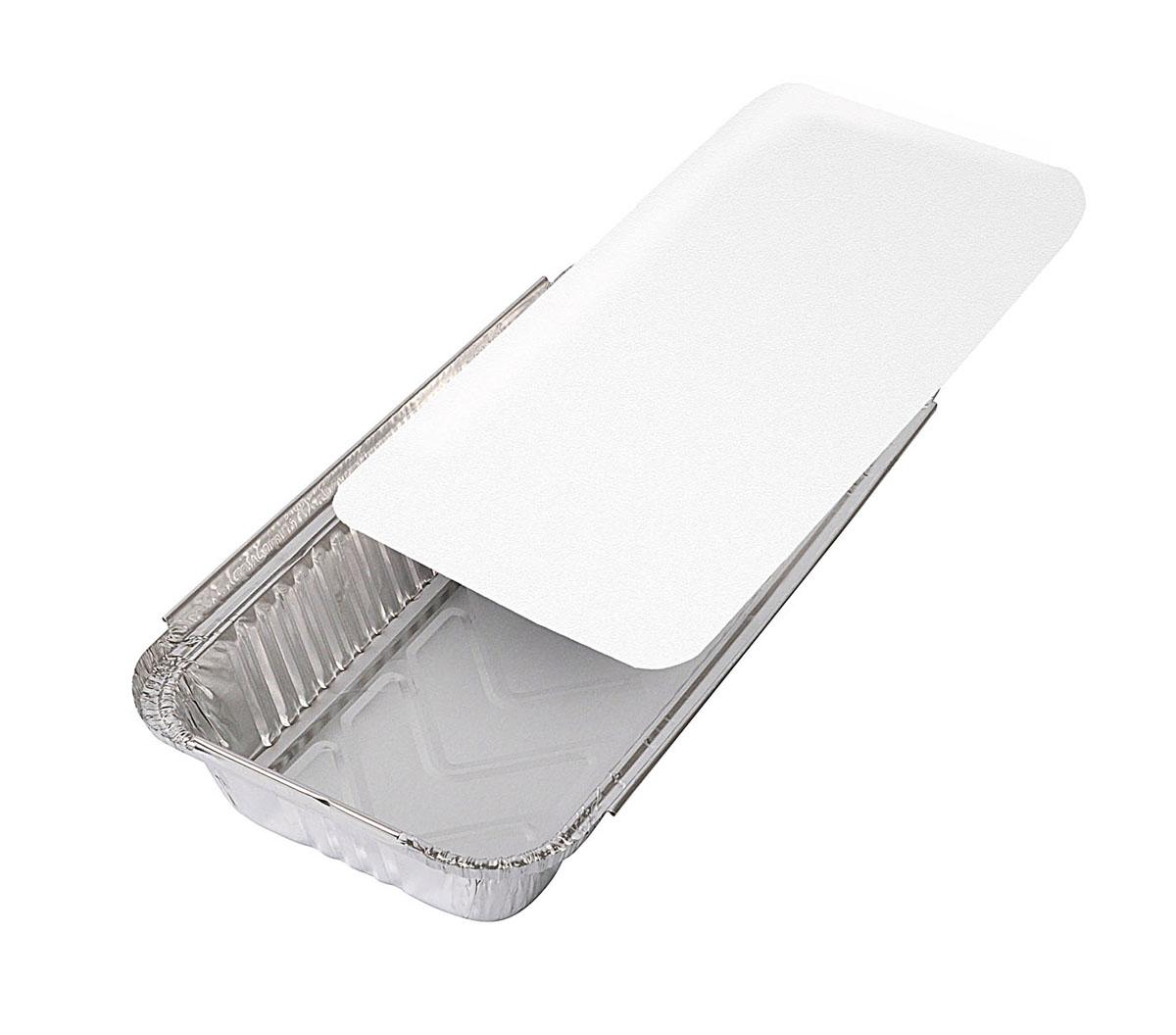 Набор форм для запекания рыбы Едим Дома, с крышками, 29 см х 15 см х 5 см, 3 шт62348Формы для запекания рыбы Едим Дома изготовлены из особо прочной фольги и имеют дополнительные ребра жесткости, что не позволит им разорваться, потерять форму или сломаться. Равномерное распределение тепла в алюминиевых формах и прочные герметичные крышки помогут приготовить сочную рыбу за короткий срок. После приготовления запеченную рыбу можно хранить в форме, а крышки не позволят ей обветриться или засохнуть. В комплект входит рецепт от Юлии Высоцкой.