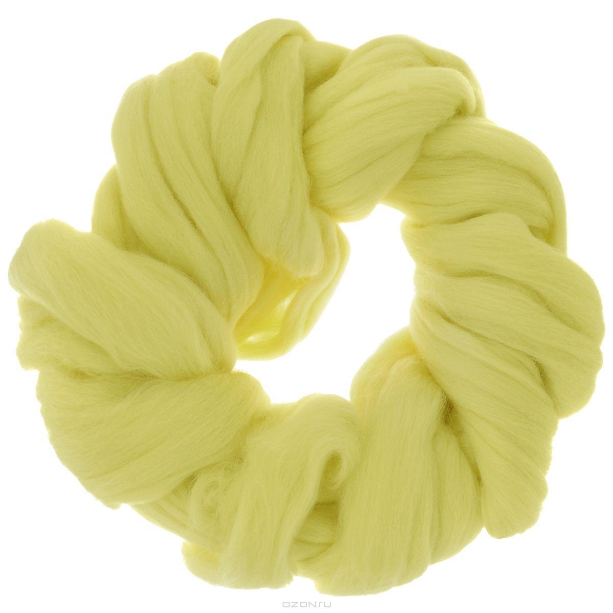Шерсть для валяния Астра, тонкая, цвет: лимонный (1340), 50 г679103_1340Тонкая шерсть для валяния Астра идеально подходит для сухого и мокрого валяния. Шерсть не линяет и не вызывает аллергию. Валяние шерсти - это особая техника рукоделия, в процессе которой из шерсти для валяния создается рисунок на ткани или войлоке, объемные игрушки, панно, декоративные элементы, предметы одежды или аксессуары. Только натуральная шерсть обладает способностью сваливаться или свойлачиваться.