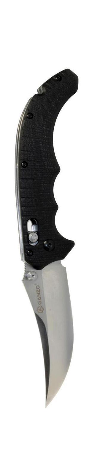 Нож туристический Ganzo, складной. G712G712Складной нож Ganzo G712 всегда найдет себе применение на даче или в гараже, на рыбалке или охоте. Малые габариты делают его удобным при частой транспортировке. Лезвие выполнено из высококачественной нержавеющей стали.