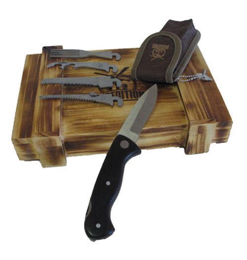 Набор выживания в подарочной коробке Экспедиция, 6 предметов. ECS-05
