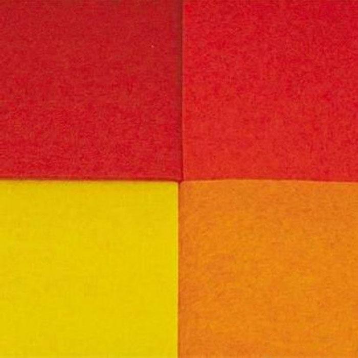 Фетр листовой Астра Ассорти, 20 см х 30 см, 4 шт. 7700071_57700071_5Эластичный и мягкий фетр Астра Ассорти, изготовленный из 100% полиэстера, используется для отделки готовых работ в разных техниках. Основное применение тонкого фетра - создание аппликаций, набивных игрушек, подушек, декора, бижутерии. Вы также можете его использовать для внутренней отделки шкатулки или подарочной коробки. Фетр напоминает бумагу, его также можно, резать, шить, клеить. Листы не лохматятся в месте разреза, что упрощает обработку краев. Материал хорошо приклеивается практически на любые поверхности, и не имеет лица и изнанки. В наборе - 4 листа разных цветов. Размер листа: 20 см х 30 см. Толщина листа: 3 мм.