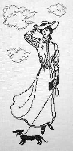 Набор для вышивания крестом Дама с собачкой, 18 х 41 см 6006697908Набор для вышивания крестом Дама с собачкой поможет вам создать свой личный шедевр - красивую картину, вышитую нитками мулине в технике счетный крест. Работа, выполненная своими руками, станет отличным подарком для друзей и близких! Набор содержит: - канва №5,5 (100% хлопок), размер 40 см х 60 см, размер готовой работы в крестиках 101 х 224, - мулине (100% хлопок) 2 цвета, - игла, - схема вышивки, - инструкция на русском языке.