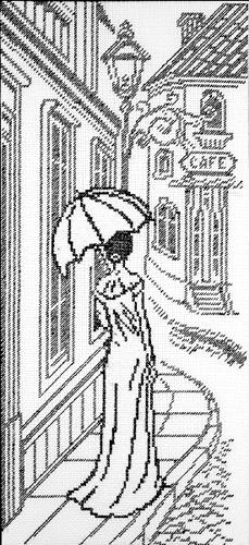 Набор для вышивания крестом Прогулка по старым улочкам, 19 см х 41 см. 6005697907Набор для вышивания крестом Прогулка по старым улочкам поможет вам создать свой личный шедевр - красивую картину, вышитую нитками мулине в технике счетный крест. Работа, выполненная своими руками, станет отличным подарком для друзей и близких! Набор содержит: - канва №5,5 (100% хлопок), размер готовой работы в крестиках 104 х 226, - мулине (100% хлопок) 2 цвета, - игла, - схема вышивки, - инструкция на русском языке.