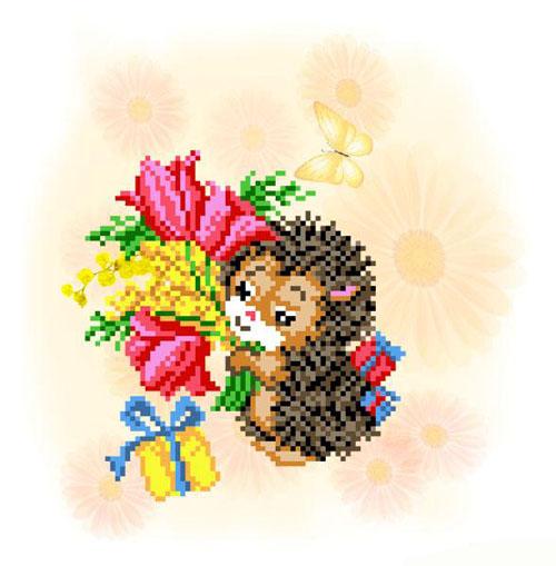 Набор для вышивания бисером В гости, 21 см х 25 см485500Набор для вышивания бисером В гости поможет вам создать свой личный шедевр - красивую картину, частично вышитую бисером по цветному фону. Работа, выполненная своими руками, станет отличным подарком для друзей и близких! Набор содержит: - ткань с нанесенным цветным рисунком (размер ткани 32 см х 35 см); - бисер (15 цветов); - нить для пришивания; - игла для бисера; - инструкция на русском языке. Размер готовой работы: 21 см х 25 см.