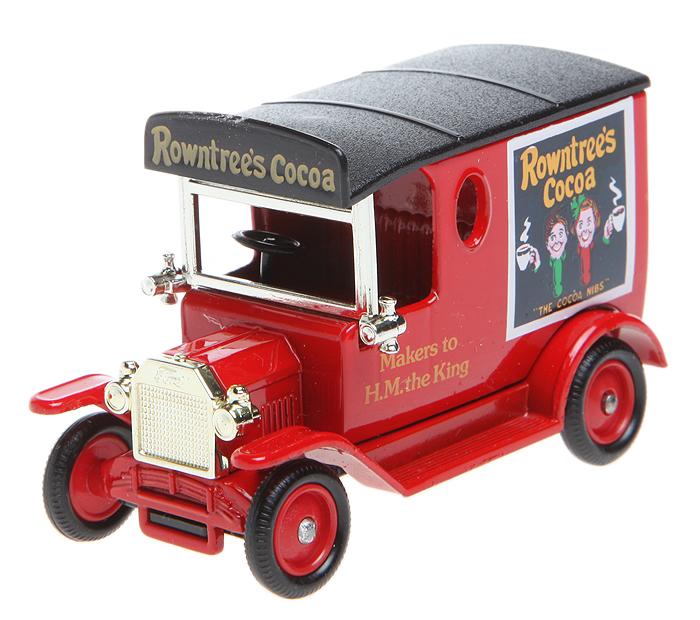 Модель автомобиля Model T Ford Van 1920 года. Металл, пластик. Lledo, Великобритания, 1990-е гг.304329Модель автомобиля Model T Ford Van 1920 года. Серия Ушедшие дни. Металл, пластик. Lledo, Великобритания, 1990-е гг. Размер: 7 Х 4 см. Цвет: красный. Вращающиеся колеса. Оригинальная упаковка. Сохранность хорошая, без повреждений.
