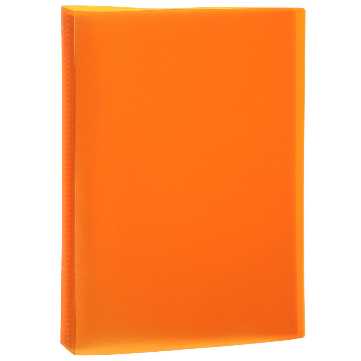 """Папка """"Centrum"""", 20 файлов, цвет: оранжевый. Формат А4 84035О"""