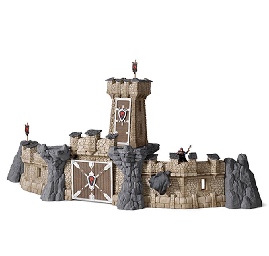 Игровой набор для сборки Schleich Рыцарский замок42102Великолепный средневековый рыцарский замок Schleich станет прекрасным подарком для всех поклонников рыцарей, боевых сражений и увлекательных исторических реконструкций. В набор входит 45 элементов, включающих в себя стены замка, смотровую башню, широкие ворота, потайные ходы и склепы, 2 фигурки, 4 флага, 2 герба, а также разнообразные дополнительные сооружения. Красочная схематичная инструкция поможет без труда собрать замок. Большой замок с высокими стенами и смотровой башней создан для увлекательных сюжетно-ролевых игр и поможет ребенку почувствовать историческую атмосферу средневековой жизни и храбрых сражений. Надежный замок сможет защитить рыцарей и жителей города от нашествия драконов или армии воинов. Мощные каменные стены замка, потайные люки, широкие ворота и дополнительные укрепления помогут обороняться и прятаться от противника. Ребенок найдет в сооружении много интересных деталей, которые сделают игру еще более оживленной. Рыцари смогут карабкаться...