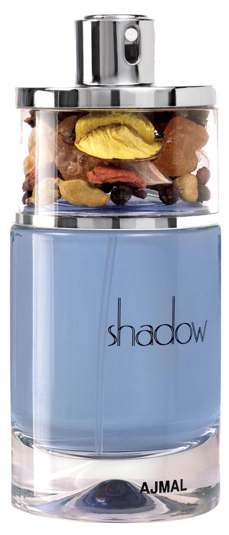 Ajmal Shadow for Him (blue box) Парфюмерная вода, 75 мл1910Пленительный и современный аромат Shadow for Him (Blue) сочетает в себе чарующую свежесть с теплым восточным оттенком. Парфюмерная композиция открывается нотами душистого перца и кардамона, плавно перетекая в теплое пряное сердце. С первого вдоха аромат окутает своего обладателя терпкими древесными созвучиями.