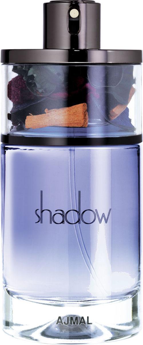 Ajmal Shadow for Him (grey box) Парфюмерная вода, 75 мл3549Яркая смесь бергамота и шафрана с нотами цветка померанцевого дерева и кедра. Аромат раскрывается долгоиграющими созвучиями пачули и мускуса, что делает его изысканным и подходящим для уверенного в себе мужчины.