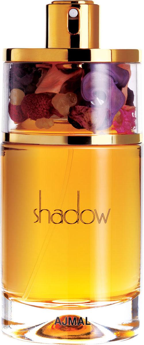 Ajmal Shadow for Her Парфюмерная вода, 75 мл3600Прекрасный чувственный женский аромат, который раскрывается волшебными созвучиями древесины красных тропических пород, лаванды и нектарина. Сердце насыщенно нотами пачули и орхидеи. Шлейф аромата мягко снисходит до теплой древесной основы белого мускуса.