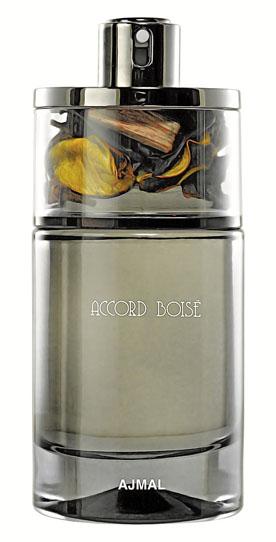 Ajmal Accord Boise Парфюмерная вода мужская, 75 мл4928Эта композиция - воплощение мужской сдержанности с чувством собственного достоинства. Спокойный и благородный, но тем не менее волнующий аромат, созданный для истинного аристократа, всегда добивающегося желаемого. Яркость оттенков кофе, перца, шалфея и шафрана соперничает с богатством пряного «сердца», внутри которого имбирь и лаванда. Мягкий окутывающий шлейф из пачули и ладана раскрывает все богатство базовых нот.