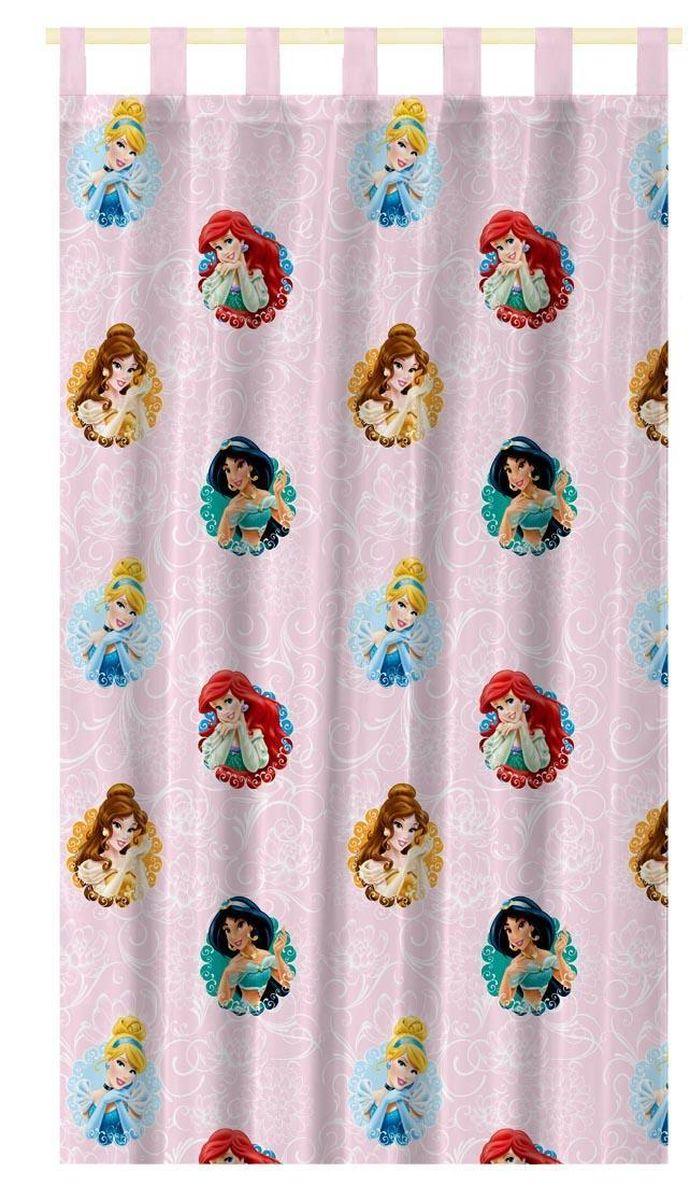 Штора интерьерная Disney Принцессы, на петлях, полупрозрачная, высота 280 см64885Штора Disney Принцессы изготовлена из 100% полиэстера. Полупрозрачная вуалевая ткань и оригинальный цветной рисунок привлекут к себе внимание и органично впишутся в интерьер. Штора Принцессы с изображением любимых героев украсит детскую комнату и непременно будет радовать вашего ребенка. Крепится на петлях. Рекомендации по уходу: стирать в ручном режиме без использования отбеливающих средств. Химчистка запрещена.