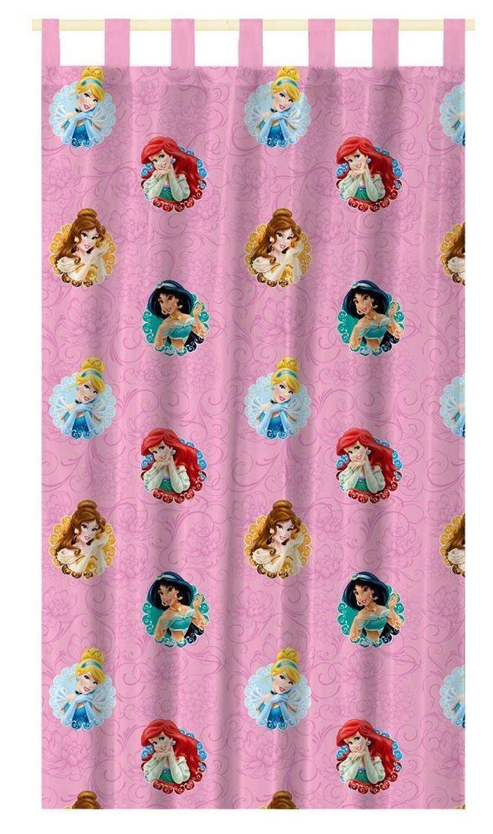 Штора интерьерная Disney Принцессы, на петлях, высота 280 см64891Штора Disney Принцессы изготовлена из 100% полиэстера. Она удобна в эксплуатации и проста в уходе. Изделие не деформируется и не теряет яркость нанесенного рисунка. Штора интерьерная Disney Принцессы с изображением любимых героев украсит детскую комнату и непременно будет радовать вашего ребенка. Крепится на петлях. Рекомендации по уходу: стирать в ручном режиме без использования отбеливающих средств. Химчистка запрещена.