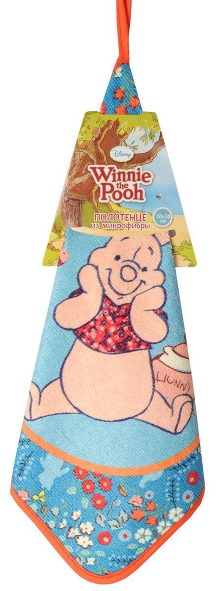 Полотенцe Disney Медвежонок Винни, 30 см х 30 см64899Небольшое мягкое полотенце Disney Медвежонок Винни, изготовленное из микрофибры (полиэстера), идеально впитывает воду. Может использоваться как полотенце для рук в ванной или на кухне. Полотенце украшено изображением Винни-Пуха. Красочный дизайн и яркое цветовое решение вызовет у ребенка бурю положительных эмоций. Размер полотенца: 30 см х 30 см.
