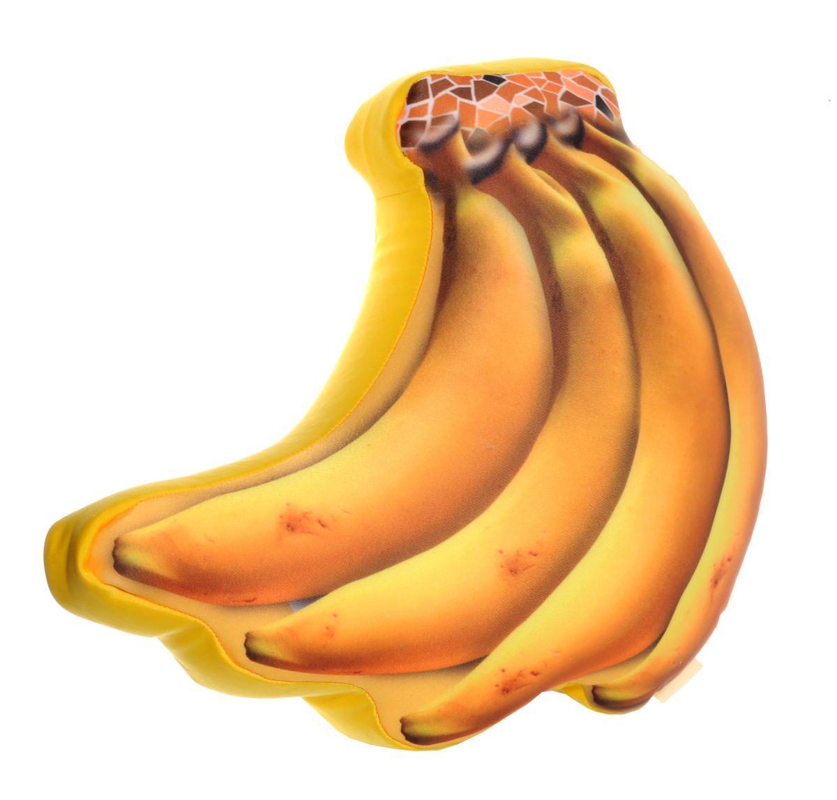Подушка антистресс Банановая гроздь 36*32*10см65210Подушка с мягкой пластичной структурой и ярким принтом - это не только антистресс, но и оригинальный аксессуар для интерьера. Отличный подарок для себя и близких.