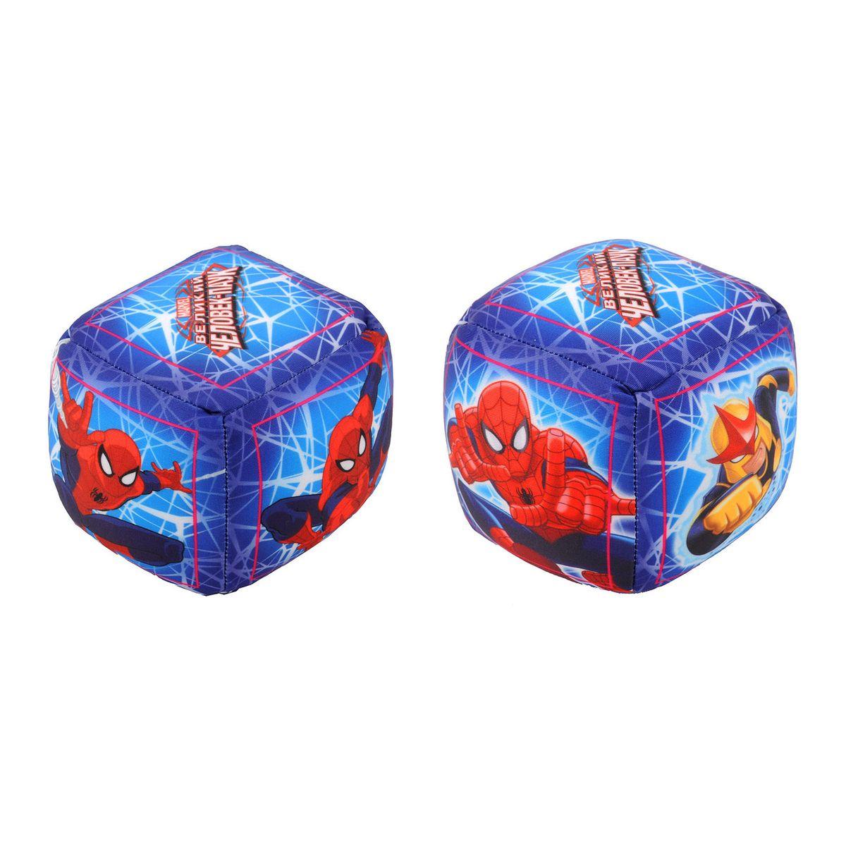 Мини-подушка антистресс 9*9см Человек-Паук65724Мини-подушка антистресс из эластичного нейлона в виде кубиков с героями Человек-Паук - отличный подарок для ребенка. Подупаковка - шоубокс.
