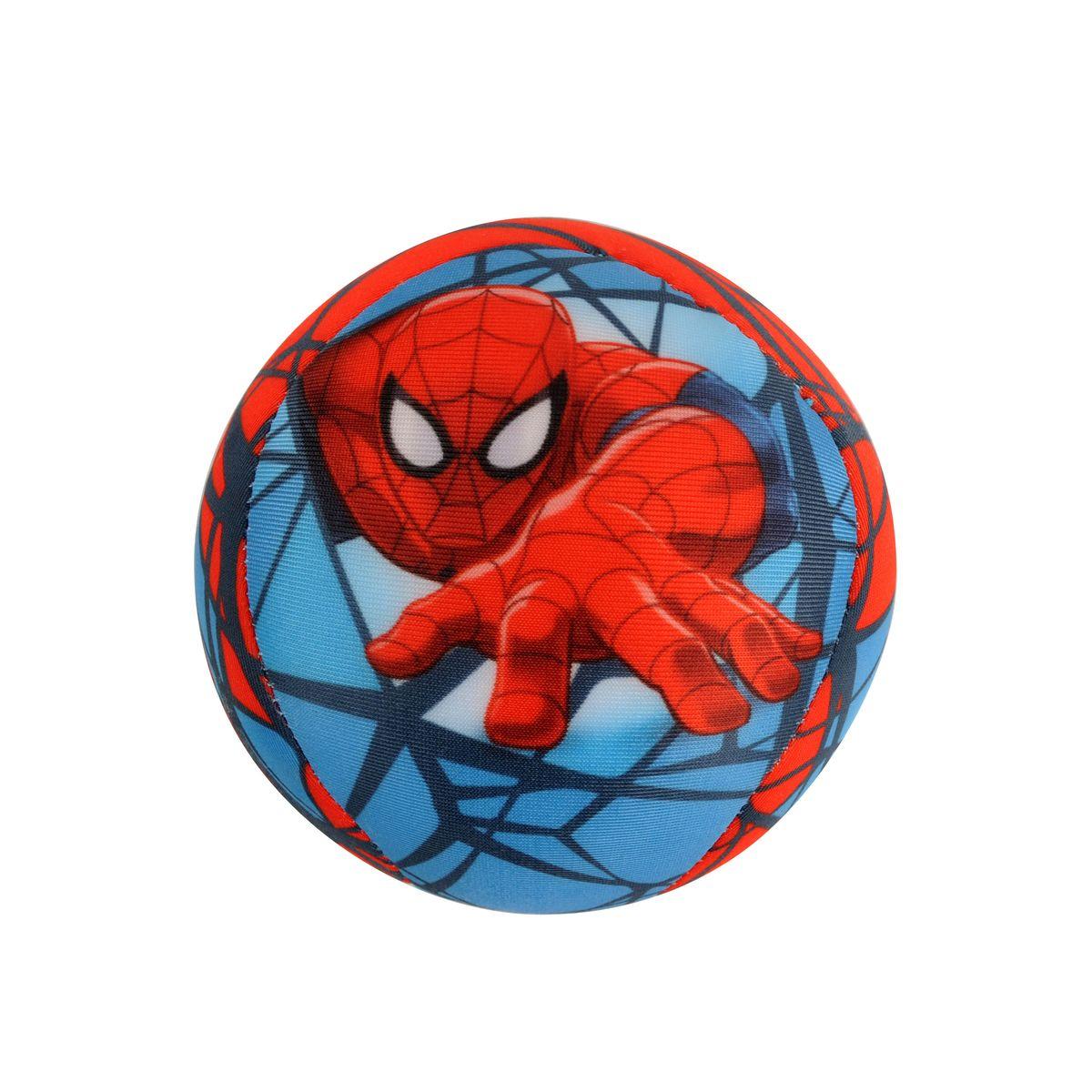 Мини-подушка антистресс круглая 10см Человек-Паук65725Яркая мини-подушка антистресс из эластичного нейлона в виде мячика с изображением героя Человек-Паук - отличный подарок для ребенка. Подупаковка - шоубокс.
