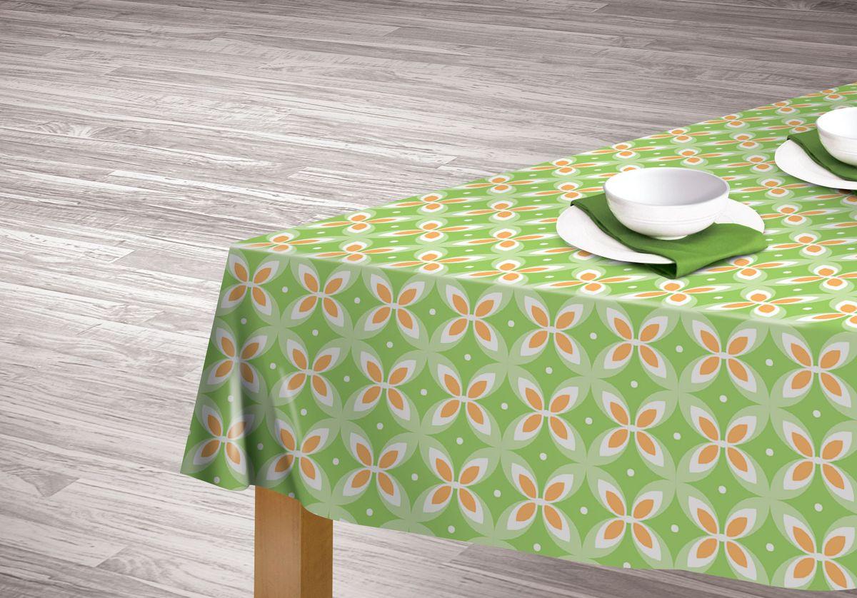 Скатерть Cooking time 110*140, полиэстер, диз.267406Практичная и красивая скатерть выполнена из гладкого полиэстера, украшена нейтральным принтом в зелено-бежевых оттенках. 100% полиэстер