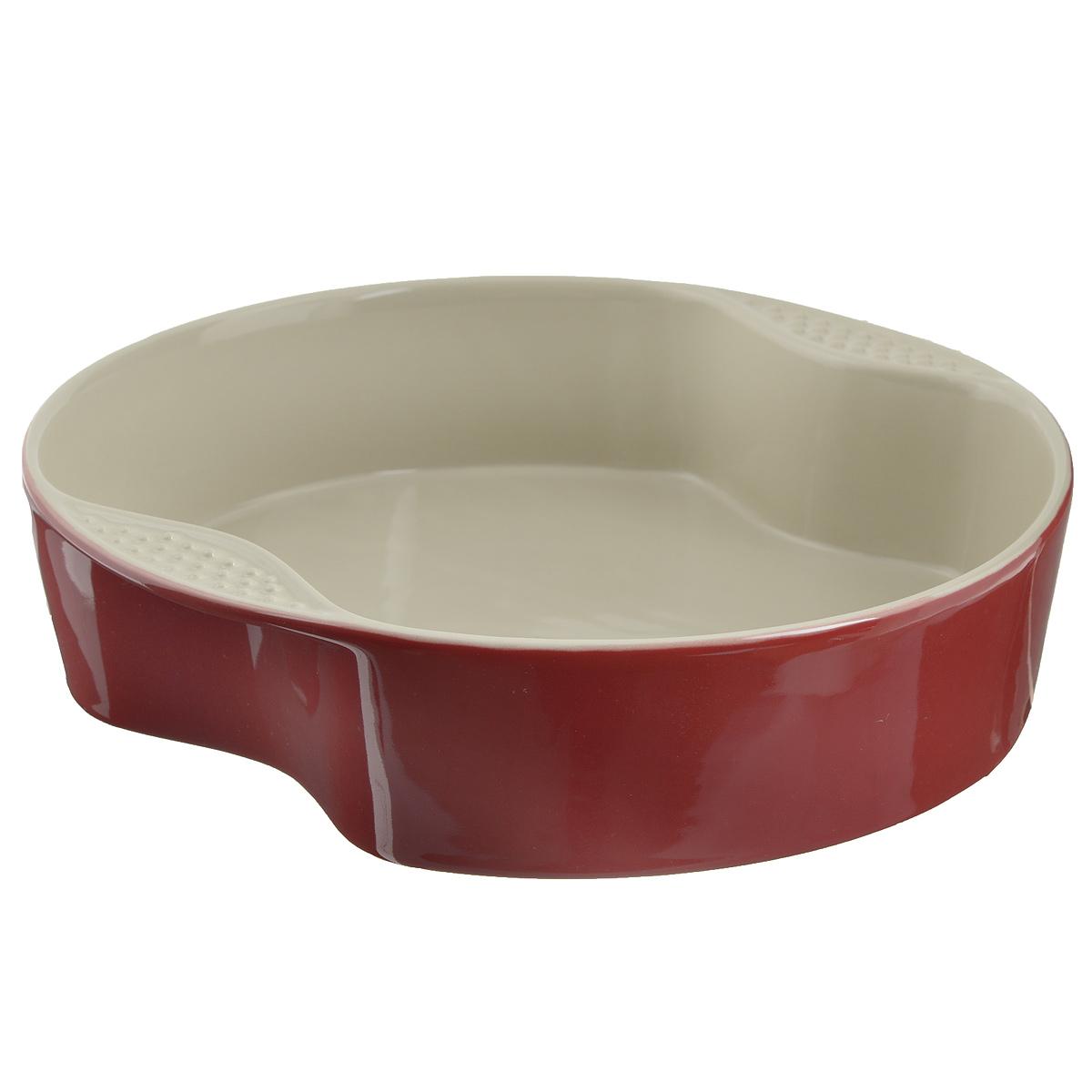 Форма для выпечки Mayer & Boch, цвет: красный, диаметр 29 см21770Форма для выпечки Mayer & Boch изготовленная из жаропрочной керамики, подходит для любого вида пищи. Элегантный дизайн идеально подходит для современного дома. Изделия из керамики идеально подходят как для приготовления пищи, так и для подачи на стол. Материал не содержит свинца и кадмия. С такой формой вы всегда сможете порадовать своих близких оригинальным блюдом. Форму для выпечки можно использовать в духовом шкафу и в микроволновой печи, замораживать в холодильнике. Можно мыть в посудомоечной машине. Размер формы (с учетом ручек): 29 см х 29 см х 7 см. Размер формы (без учета ручек): 21,5 см х 27,5 см х 7 см. Высота стенок: 7 см. Толщина стенок: 6-7 мм.