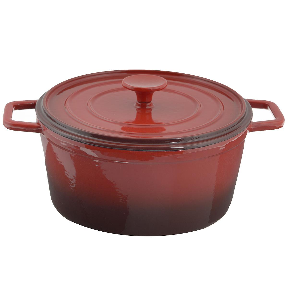 Кастрюля Mayer & Boch с крышкой, с эмалевым покрытием, 4,2 л22050Кастрюля Mayer & Boch, изготовленная из чугуна, идеально подходит для приготовления вкусных тушеных блюд. Она имеет внутреннее стекловидное эмалевое покрытие. Чугун является традиционным высокопрочным, экологически чистым материалом. Причем, чем дольше и чаще вы пользуетесь этой посудой, тем лучше становятся ее свойства. Высокая теплоемкость чугуна позволяет ему сильно нагреваться и медленно остывать, а это в свою очередь обеспечивает равномерное приготовление пищи. Чугун не вступает в какие-либо химические реакции с пищей в процессе приготовления и хранения, а плотное покрытие - безупречное препятствие для бактерий и запахов. Пища, приготовленная в чугунной посуде, благодаря экологической чистоте материала не может нанести вред здоровью человека. Кастрюля оснащена двумя удобными ручками. Крышка изготовлена из чугуна. Она плотно прилегает к краю казана, сохраняя аромат блюд. Можно использовать в духовом шкафу. Нельзя мыть в посудомоечной машине. Высота стенки: 11 см. ...