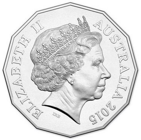 Монета номиналом 50 центов