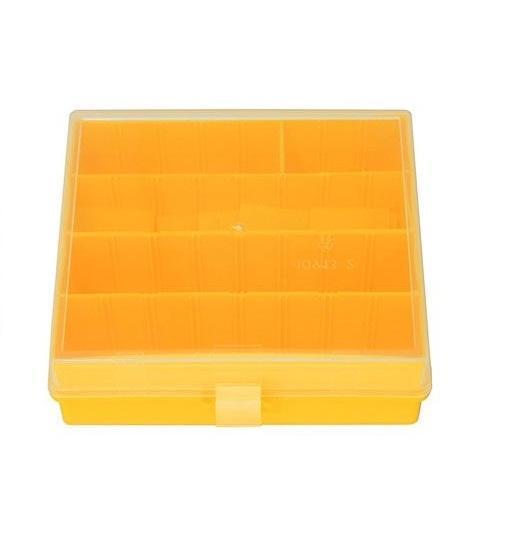 Коробка для мелочей Профи-2, цвет: желтыйПрофи-2 желтыйКоробка Профи 2, выполненная из прочного пластика, предназначена для хранения различных мелких вещей. Такая коробка закрывается при помощи прозрачной крышки, что поможет быстро определить содержимое. Коробка поможет хранить все в одном месте, а также защитить вещи от пыли, грязи и влаги.
