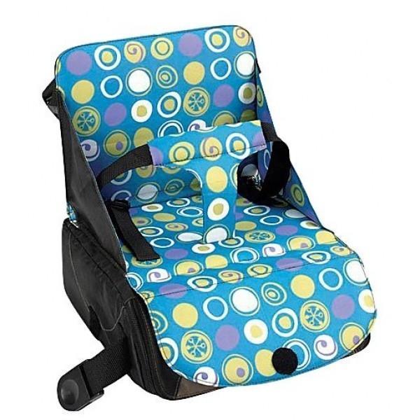 """Дорожный стульчик для кормления """"Munchkin"""", цвет: голубой, фиолетовый, желтый 11021"""