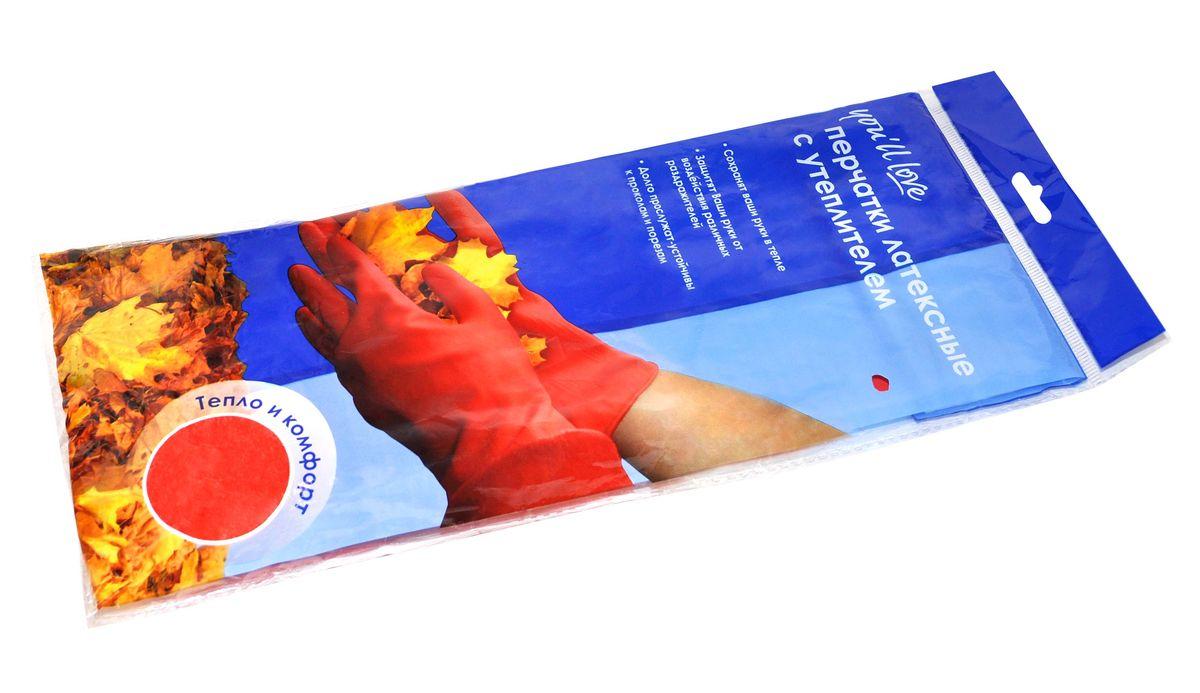 Перчатки латексные с утеплителем Youll love57060Латексные перчатки Youll love сохранят руки в тепле. Они обеспечивают защиту рук от воздействия различных раздражителей. Долговечные и прочные - устойчивы к проколам и порезам. Выполнены из латекса и флисового утеплителя.