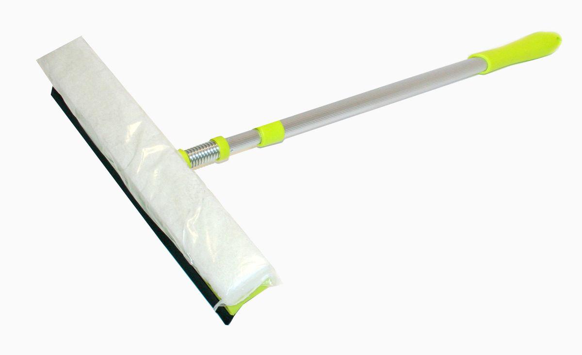 Стеклоочиститель Home Queen, с телескопической ручкой и съемной насадкой57373Стеклоочиститель Home Queen подойдет для очистки больших поверхностей. Комфортный, благодаря легкому весу. Поролон позволяет сэкономить моющее средство. Благодаря телескопической ручке, легко справляется с труднодоступными загрязнениями. Оснащен сгоном воды. Минимальная длина стеклоочистителя: 45 см. Максимальная длина стеклоочистителя: 72 см. Ширина рабочей части: 27 см.