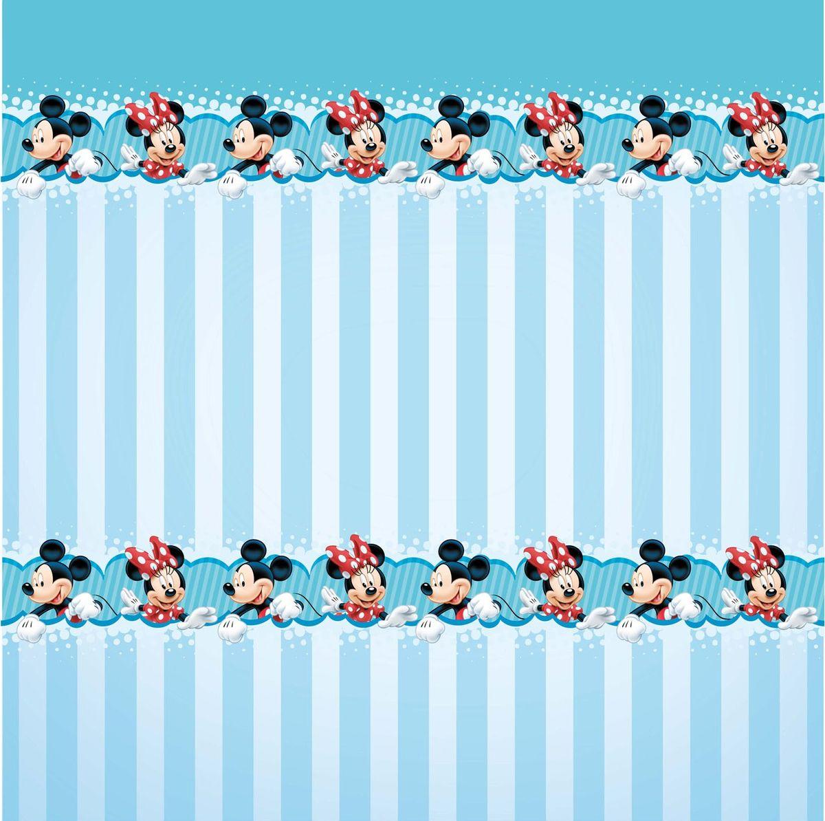 """Штора для ванной комнаты Disney """"Микки и Минни Маус"""", 180 см х 180 см 64867"""