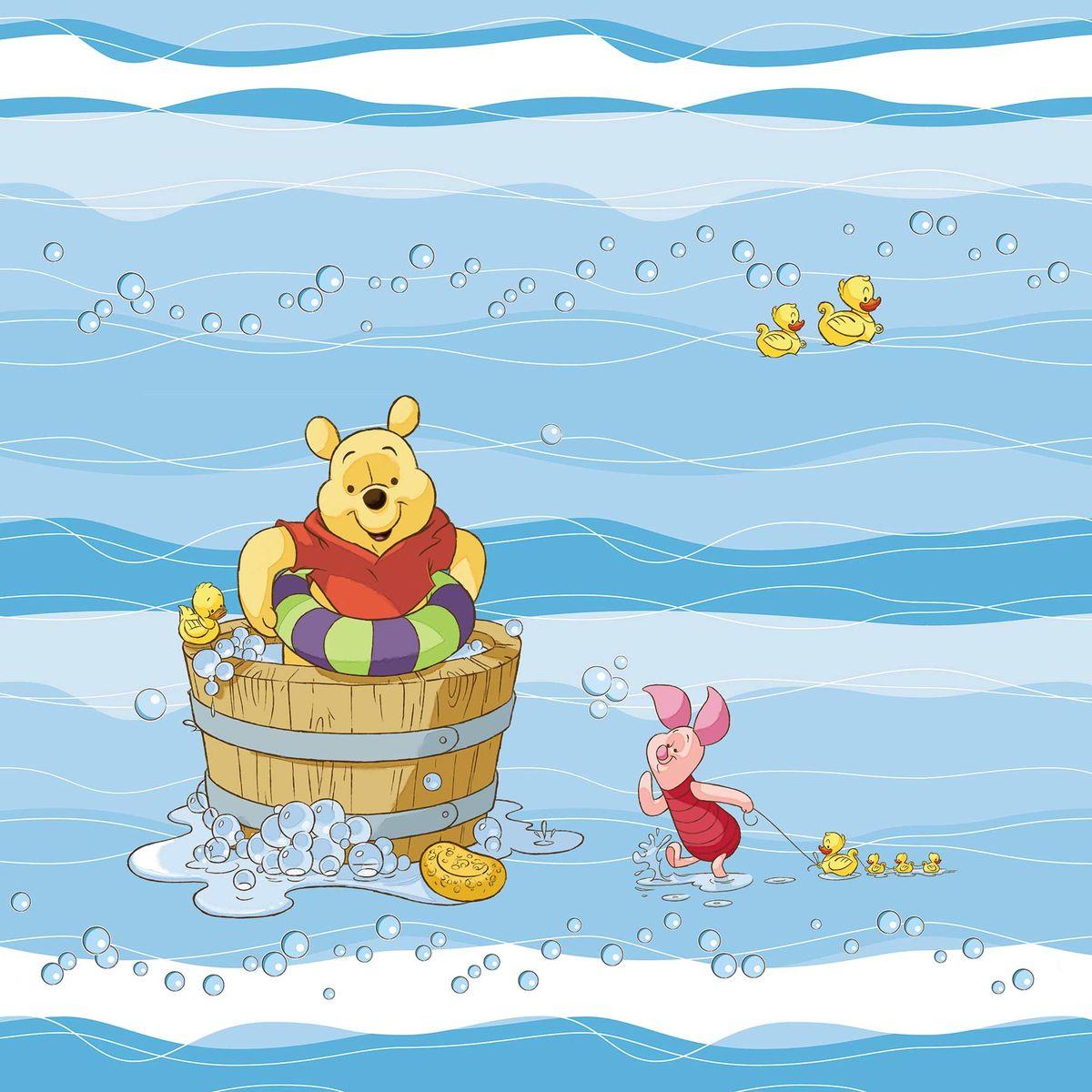 """Штора для ванной комнаты Disney """"Винни и его друзья"""", 180 х 180 см 64868"""