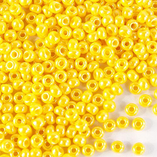Бисер непрозрачный с жемчужным покрытием 10/0 (88130), круг.отв., 50гр Preciosa7703067Бисер непрозрачный с жемчужным покрытием 10/0 (88130), круг.отв., 50гр Preciosa