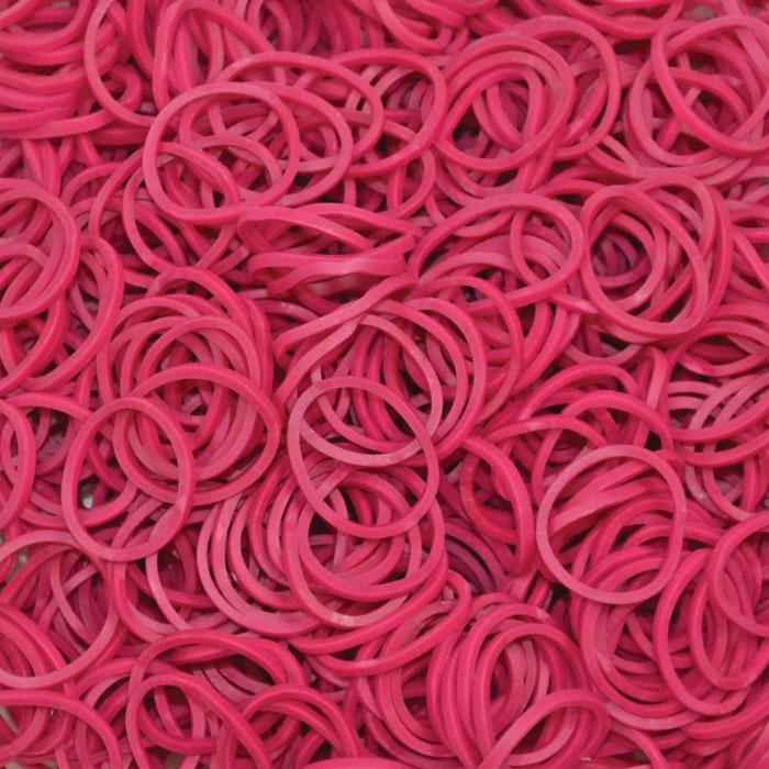 Резинки - Фуксия 24 пластиковые с-клипсы+600 рез.