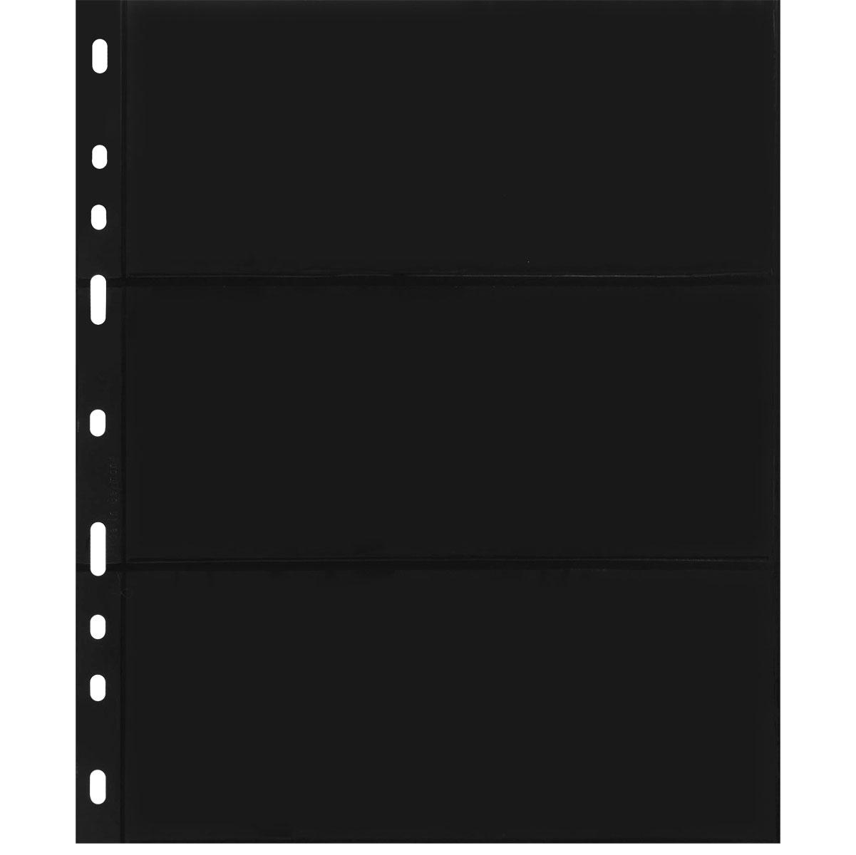 Лист в альбом Optima для бон, на 3 боны (S) (10 листов в упаковке)324851Характеристики: Размер листа: 25,2 см х 20,2 см Размер ячейки: 18 см x 7,7 см Количество листов в упаковке: 10