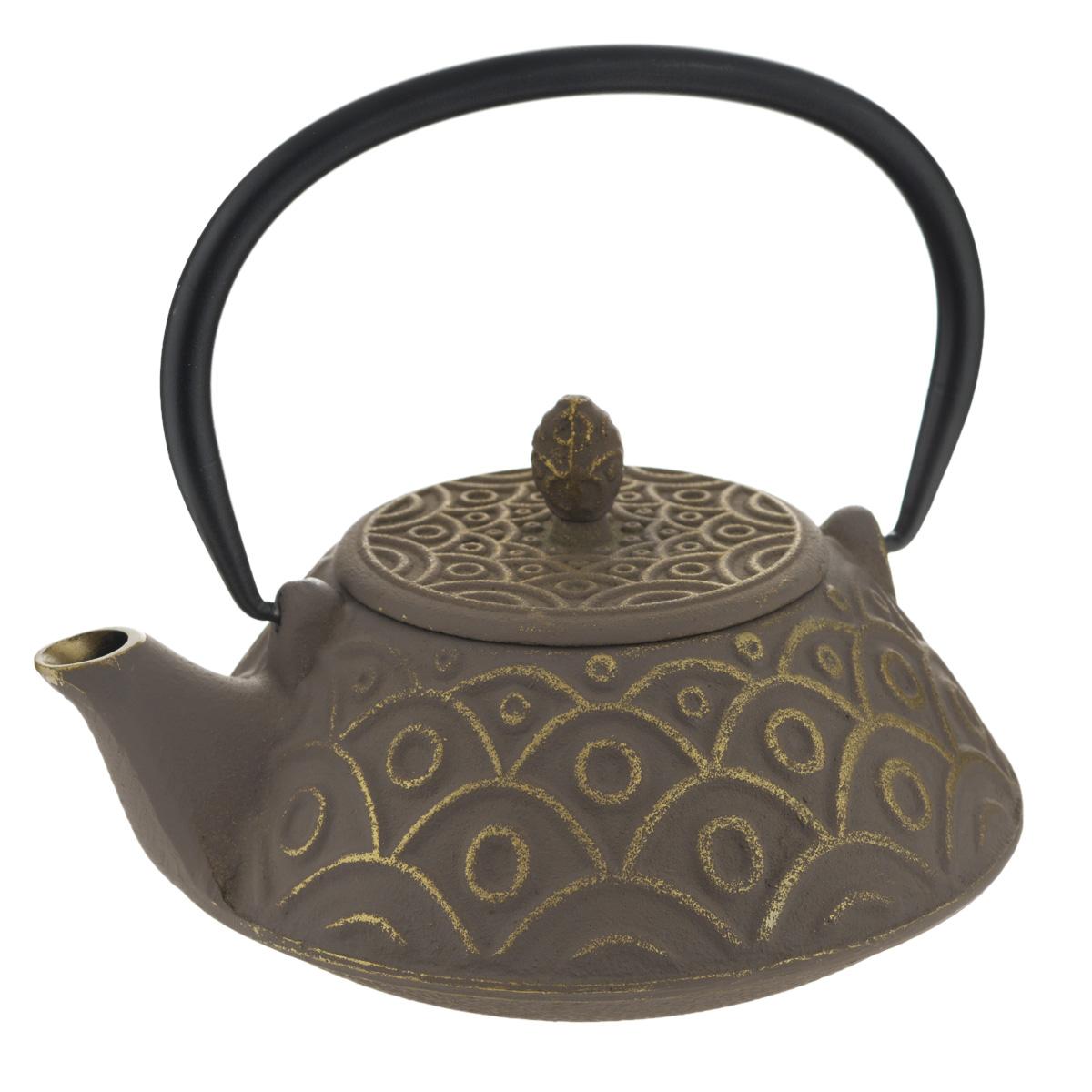 Чайник заварочный Mayer & Boch, 1 л. 2369823698Чайник заварочный Mayer & Boch изготовлен из чугуна - экологически чистого материала, который не тускнеет и не деформируется. Он долговечен и устойчив к воздействию высоких температур. Главное достоинство чугунного чайника - способность длительно сохранять тепло, чай в таком чайнике сохраняет свой вкус и свежий аромат долгое время. Внутренняя колба чайника выполнена из нержавеющей стали. Изделие оснащено удобной ручкой. Классический стиль, приятная цветовая гамма и оптимальный объем делают чайник удобным и оригинальным аксессуаром, который прекрасно подойдет как для ежедневного использования, так и для специальной чайной церемонии. Чайник нельзя мыть в посудомоечной машине. Диаметр по верхнему краю: 8 см. Высота (без учета крышки): 8,5 см. Диаметр дна: 6,5 см.