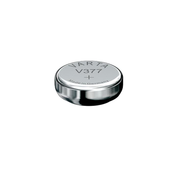 Батарейка Varta Professional Electronics V377, 1,55В, 1 шт37938Батарейка Varta Professional Electronics обеспечивает высокую энергию для автомобильных ключей, калькуляторов, фотоаппаратов и других электронных приборов.