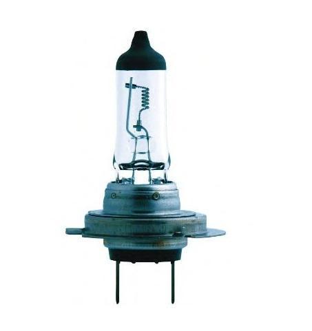 Лампа автомобильная галогенная Philips MasterDuty BlueVision, для грузовиков, цоколь H7 (PX26d), 24V, 70W13972MDBVB1 (бл.)Галогенная лампа для автомобильных фар Philips MasterDuty BlueVision произведена из запатентованного кварцевого стекла с УФ фильтром Philips Quartz Glass. Кварцевое стекло Philips в отличие от обычного твердого стекла выдерживает гораздо большее давление смеси газов внутри колбы, что препятствует быстрому испарению вольфрама с нити накаливания. Кварцевое стекло выдерживает большой перепад температур, при попадании влаги на работающую лампу изделие не взрывается и продолжает работать. Лампы MasterDuty BlueVision обладают прочностью и вибростойкостью, а также создают эффект ксенонового света. Вибростойкость этих ламп в два раза выше, чем у обычных ламп. Мощный белый свет с голубым оттенком позволяет увеличить безопасность на дороге. Автомобильные галогенные лампы Philips удовлетворят все нужды автомобилистов: дальний свет, ближний свет, передние противотуманные фары, передние и боковые указатели поворота, задние указатели поворота, ...