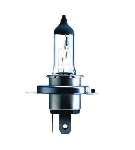 Лампа автомобильная галогенная Philips MasterDuty, для фар, цоколь H4 (P43t), 24V, 75/70W13342MDBVB1 (бл.)Галогенная лампа для автомобильных фар Philips MasterDuty произведена из запатентованного кварцевого стекла с УФ фильтром Philips Quartz Glass. Кварцевое стекло Philips в отличие от обычного твердого стекла выдерживает гораздо большее давление смеси газов внутри колбы, что препятствует быстрому испарению вольфрама с нити накаливания. Кварцевое стекло выдерживает большой перепад температур, при попадании влаги на работающую лампу изделие не взрывается и продолжает работать. Лампы для головного освещения MasterDuty имеют максимальную вибростойкость и обеспечивают долгий срок службы. Эти лампы служат в 2 раза дольше, их вибростойкость увеличена в два раза по сравнению с обычными лампами, представленными на рынке. Лампы MasterDuty отличаются повышенной прочностью крепления цоколя для непревзойденной защиты от механических ударов, а также прочной двойной нитью накаливания, которая выдерживает значительные вибрации. MasterDuty - лучший выбор для водителей, которым нужна...