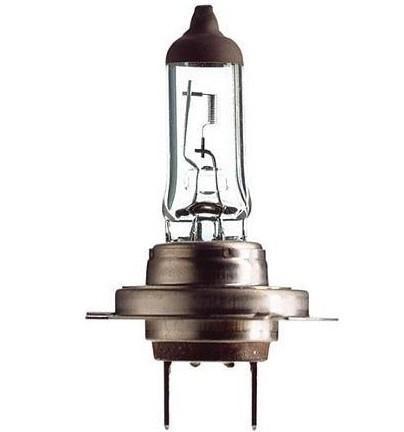 Лампа автомобильная галогенная Philips LongLife EcoVision, для фар, цоколь H7 (PX26d), 12V, 55W12972LLECOB1 (бл.)Автомобильная галогенная лампа Philips LongLife EcoVision произведена из запатентованного кварцевого стекла с УФ-фильтром Philips Quartz Glass. Кварцевое стекло Philips с УФ фильтром в отличие от обычного твердого стекла выдерживает гораздо большее давление смеси газов внутри колбы, что препятствует быстрому испарению вольфрама с нити накаливания. Кварцевое стекло выдерживает большой перепад температур, при попадании влаги на работающую лампу изделие не взрывается и продолжает работать. Срок службы лампы Philips LongLife EcoVision в 4 раза больше, чем у стандартной лампы, поэтому ее выбирают водители, которые хотят сократить затраты на техническое обслуживание своих автомобилей. С такими лампами водителям не нужно беспокоиться о замене ламп для головного освещения на протяжении 100 000 км. Автомобильные галогенные лампы Philips удовлетворят все нужды автомобилистов: дальний свет, ближний свет, передние противотуманные фары, передние и боковые указатели поворота,...
